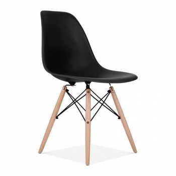 Cadeira Charles Eames Wood Eiffel - Pretapreta