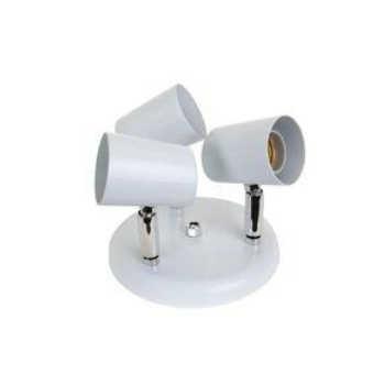 Luminária Spot Alumínio 3xe27 Versátil Branco 423/3 Dital