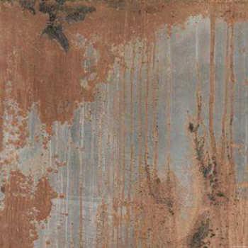 Porcelanato Acetinado Ceusa Aço Oxidado A 80x80