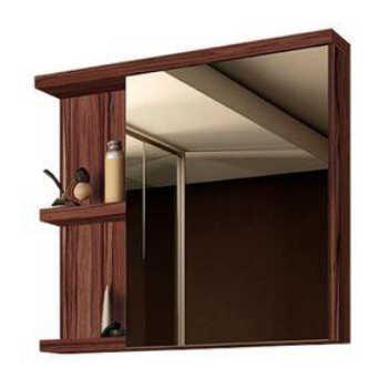 Espelheira 70cm Onix Ameixa Gaam