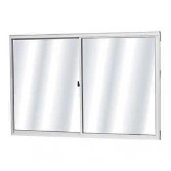 Vitrô Alumínio Mgm Soft 2 Folhas Móveis 100x120x7,7 Branco