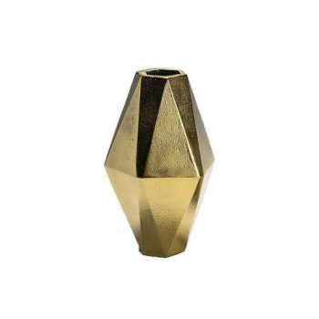 Vaso Nave Dourado 18cm