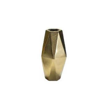 Vaso Navette Dourado 15cm