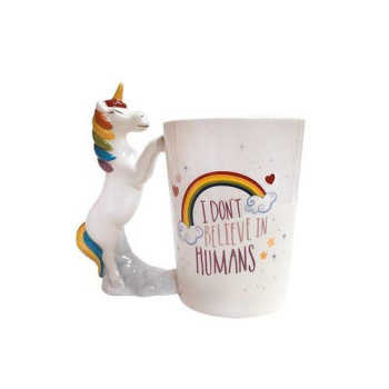 Caneca Fun Unicórnio 350ml - Dynasty