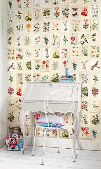 Painel De Papel De Parede Botanical Paper Branco - Pip Studio