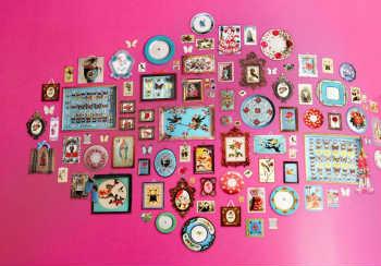 Painel De Papel De Parede De Memories Rosa - Pip Studio