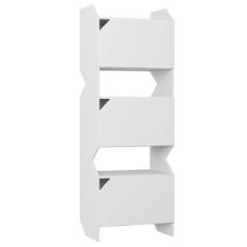 Estante Tripla Com Porta Soul Branco Tx - Be Mobiliário