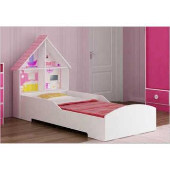 Cama Infantil Casinha Para Meninas Branco - Gelius