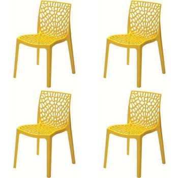 Conjunto 4 Cadeiras Gruvyer