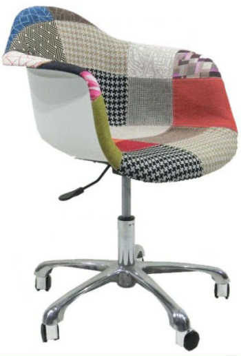Cadeira Dar Office Patchwork