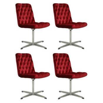 Conjunto 4 Cadeiras Marta