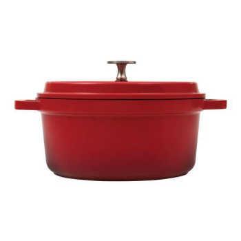 Caçarola Grand Gourmet 6 Litros 28 Cm Vermelha Brinox