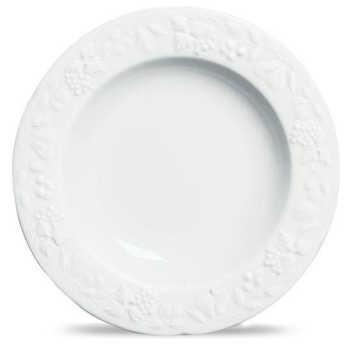 Sousplat Summer Porcelana Branco Verbano