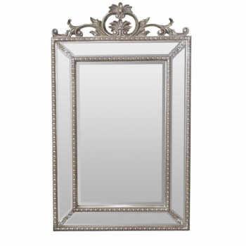 Espelho Com Moldura Classica Retangular Luiz Xv