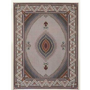 Tapete Estilo Persa Com Bordas Ornamentadas Kirman 3,5x2,5m