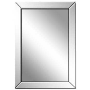 Espelho Retangular Com Acabamento Em Bisotê