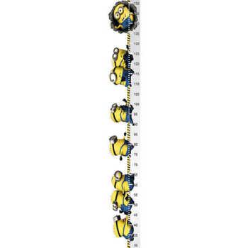 Adesivo Régua Do Crescimento - Minions 571