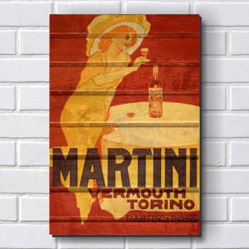 Placa Decorativa P160 - Martini