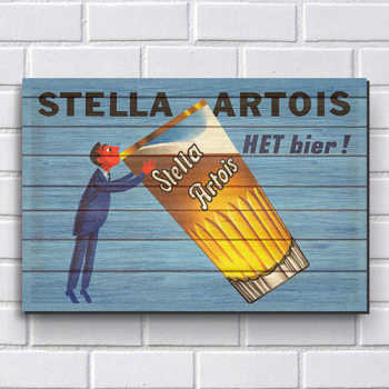 Placa Decorativa P219 - Stella Artois