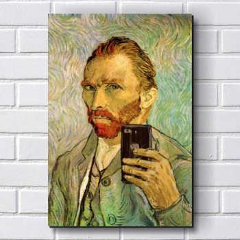 Placa Decorativa P229 - Van Gogh