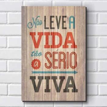 Placa Decorativa P353 - Frase