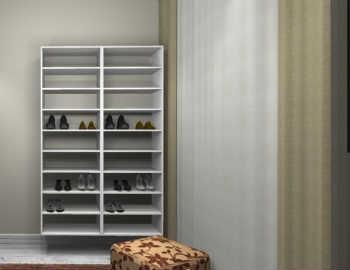 Conjunto Completo Para Closet 25 Branco - Getama Moveis