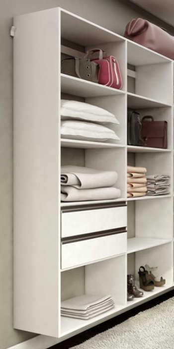 Closet Modelo Guarda Roupa Casal E Solteiro Kt1209 - Getama Móveis