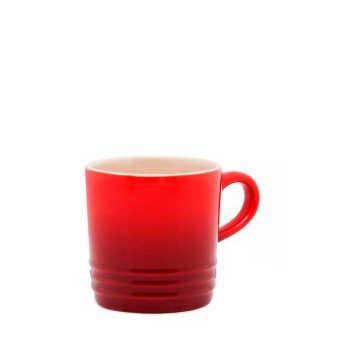 Caneca Expresso Le Creuset Cerâmica Vermelho 100ml - 104080