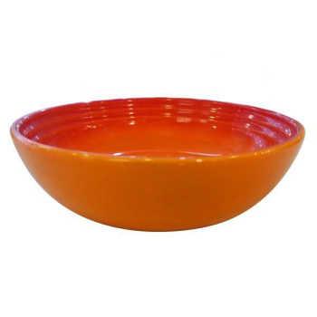 Bowl De Cerâmica Para Cereais Le Creuset Laranja - 15933