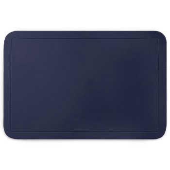 Jogo Americano De Pvc Azul Marinho 44x29cm - 21095