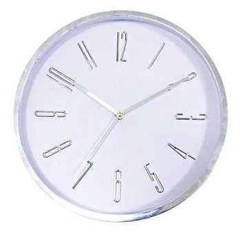 Relógio De Parede Long Numbers 32cm - 30458