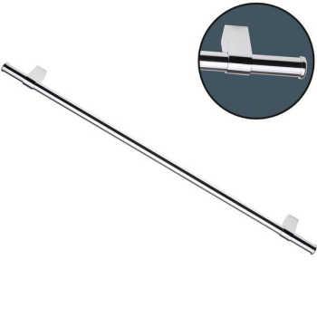 Barra Para Utensílios De Aço Cromado 6 Ganchos Future 45cm - 4870