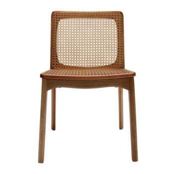 Cadeira Mell Com Palha Envelhecida