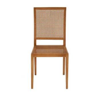 Cadeira C/ Assento E Encosto Palha
