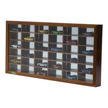 Quadro De Made Ira Com Espelho Para 36 Carrinhos Naturals 66,5x33,5x5,5cm 31011684